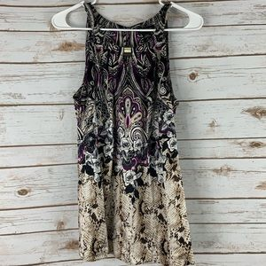 WHBM top blouse size 14 silk stretch sleeveless